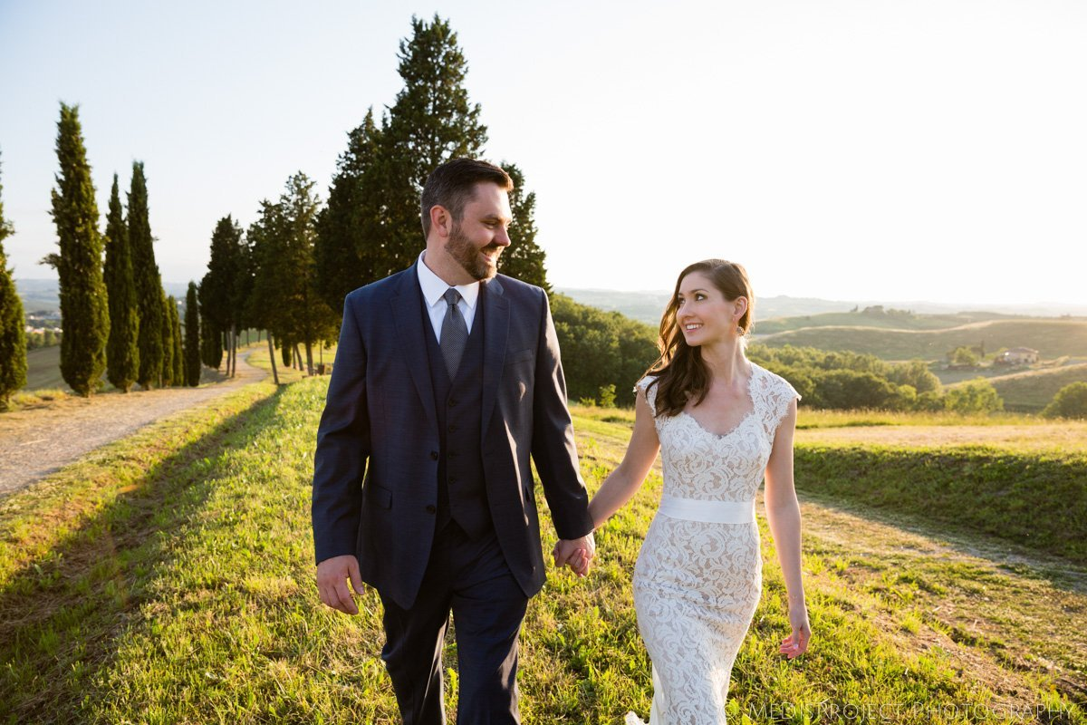 Natural wedding photographers in Florence