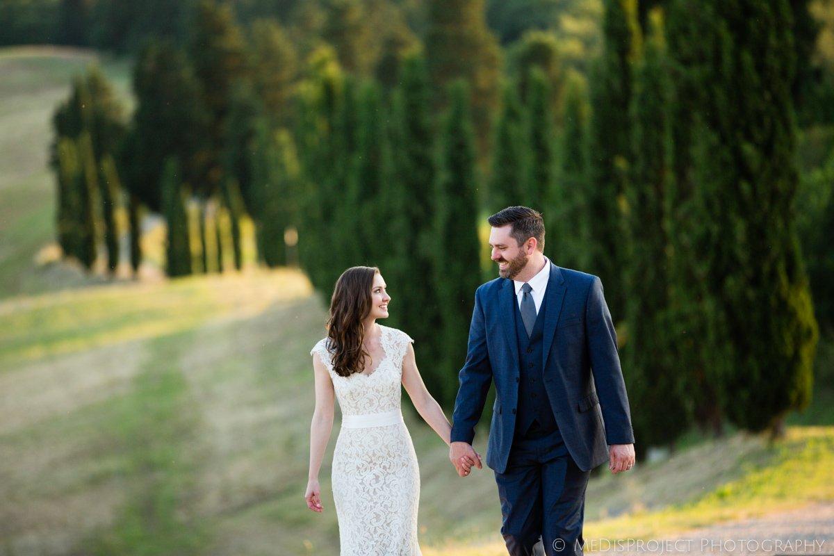 celebrating Honeymoon in Tuscany