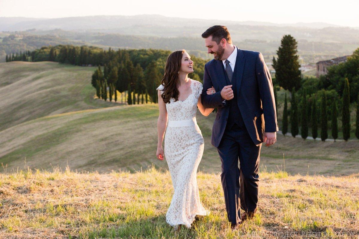 wedding photographers in Certaldo Italy