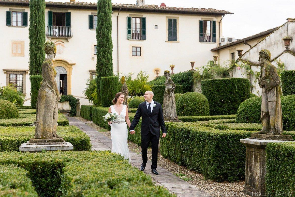 Wedding photos at Villa le Piazzole