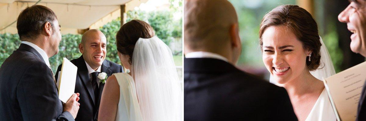 wedding party at Villa le Piazzole