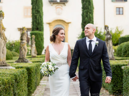 Real wedding in Autumn | getting married at Villa le Piazzole