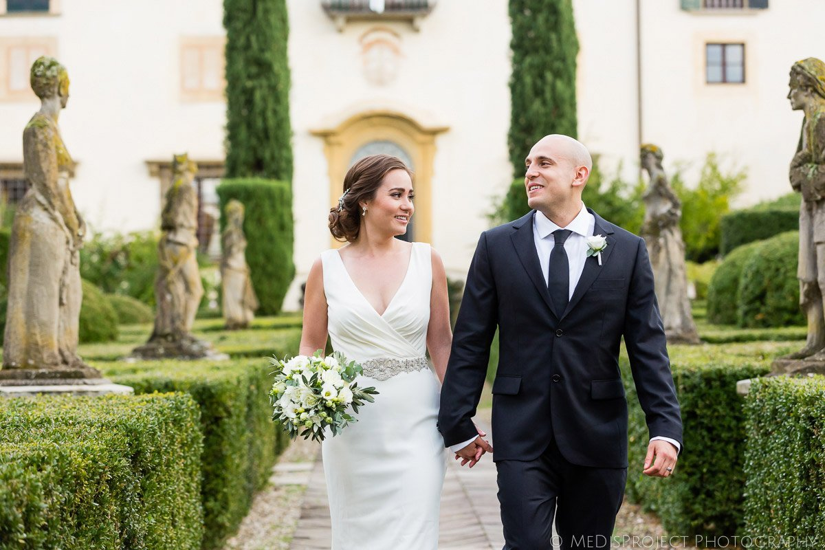 Getting married at Villa le Piazzole
