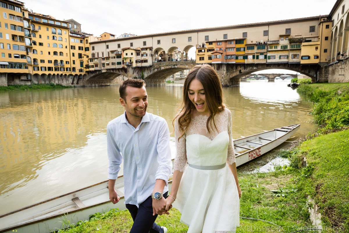 Love story photos in Florence
