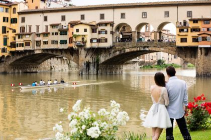 In love with Florence | Anniversary photo shoot in Florence