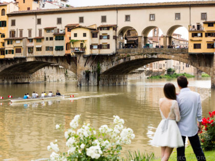 In love with Florence | Anniversary photo shoot in Italy