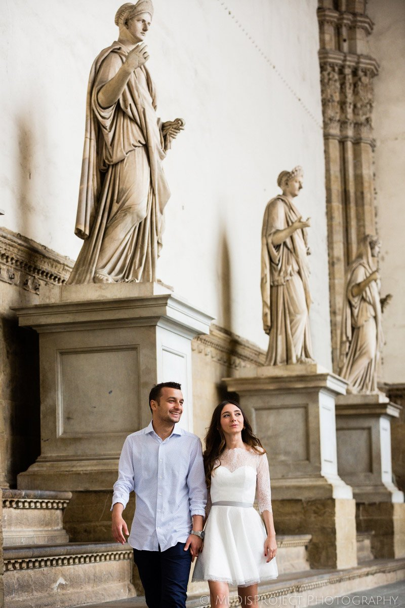 surrounded by the art and history of Florence