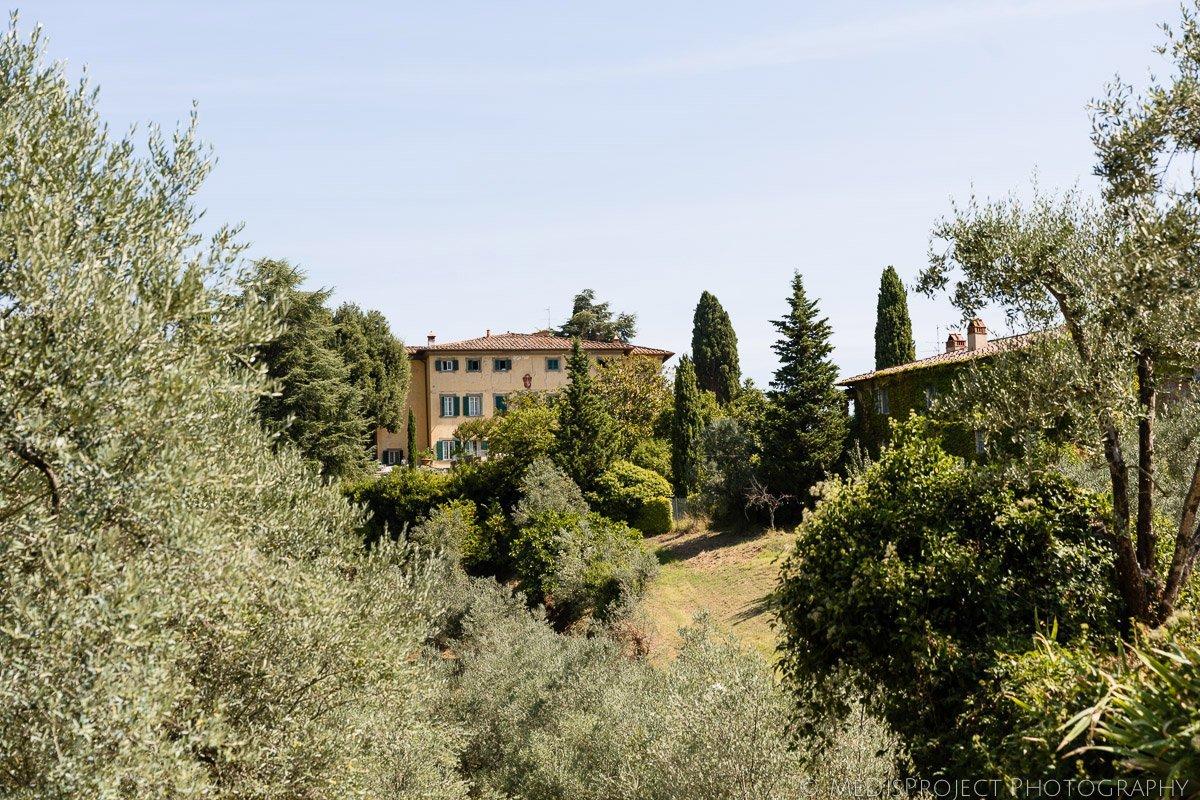 Villa Petrolo in Chianti hills