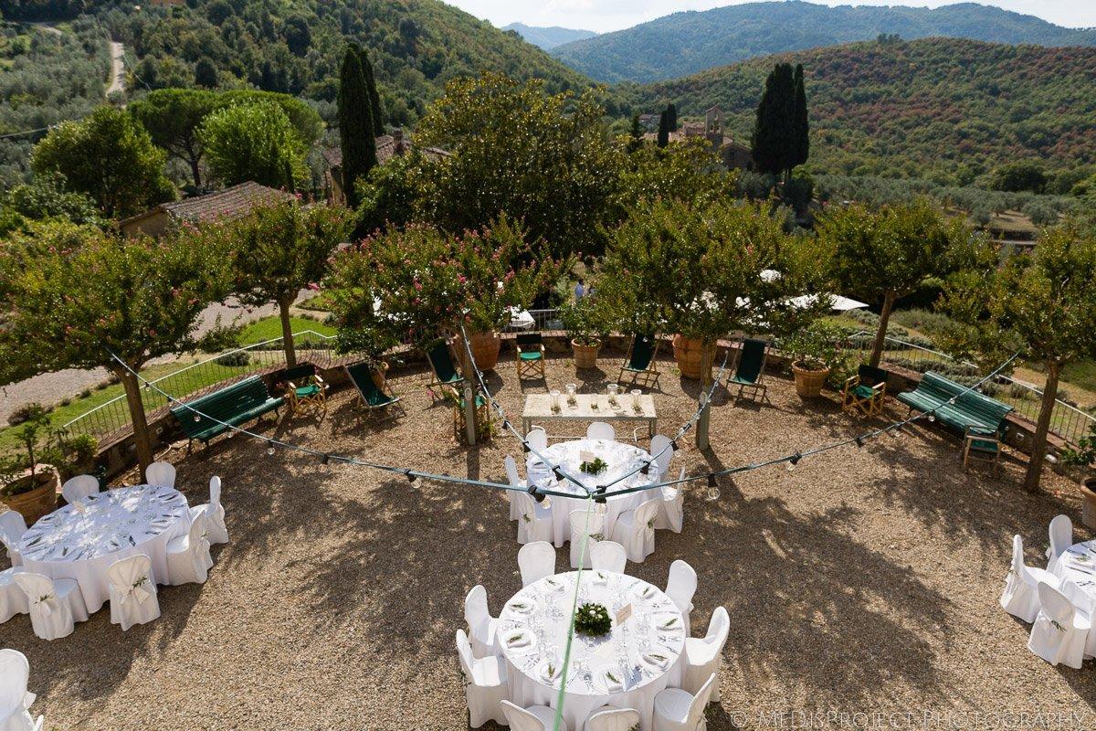 Cozy destination wedding