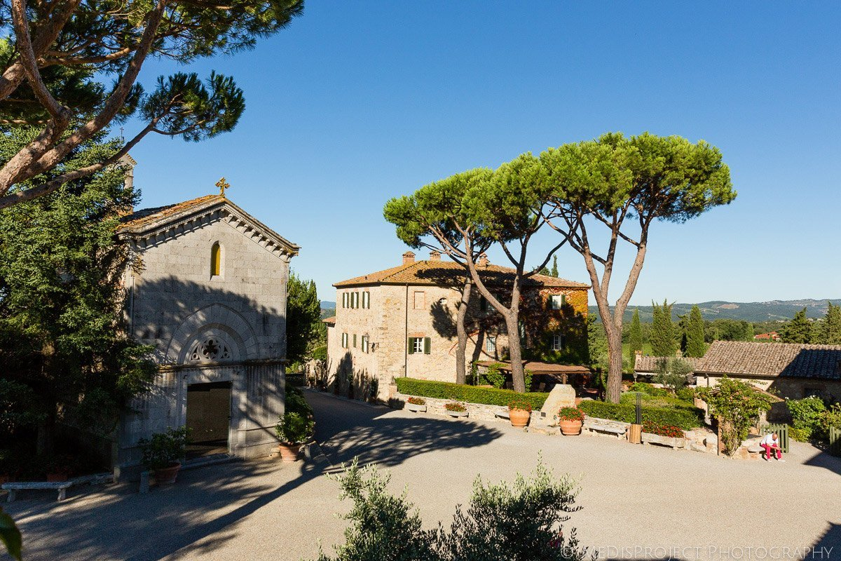 Inside the Borgo San Felice