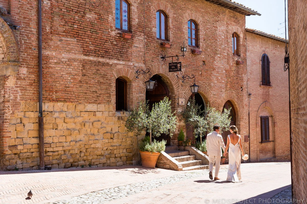 Romantic Elopement in Certaldo Alto