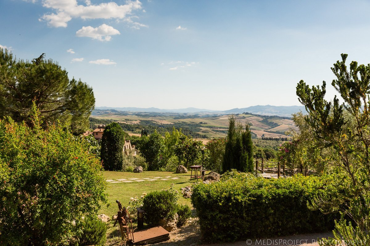 Podere le Monache in Iano, Tuscany is a perfect setting for a secret elopement