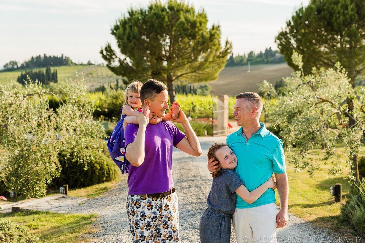 GLTB family on hollydays in Italy