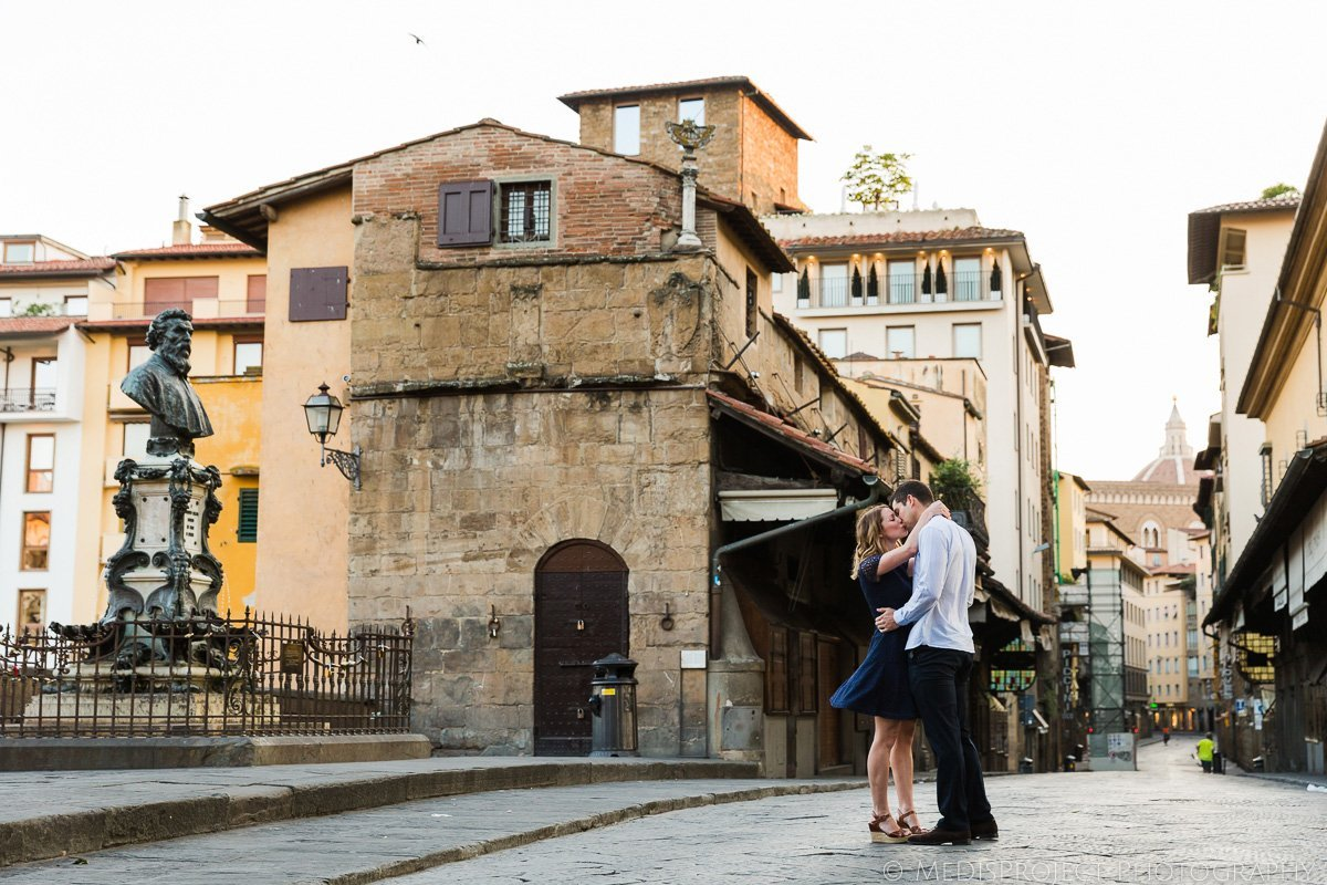 Early morning photo session in Florence