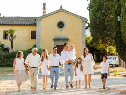 Family Reunion in Italy | Summer Holidays in Tuscany
