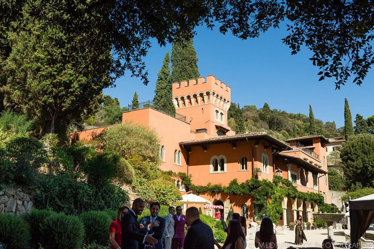 Villa le Fontanelle in Florence Tuscany