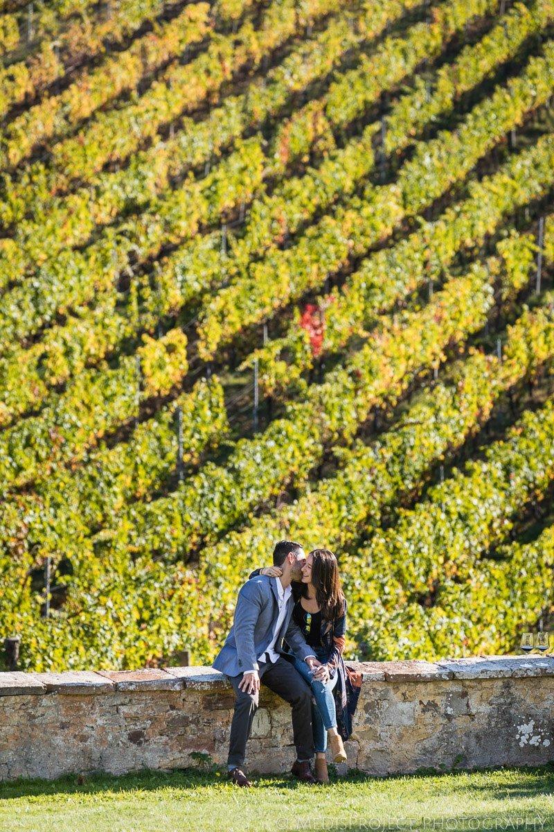 autumn photo session in Chianti