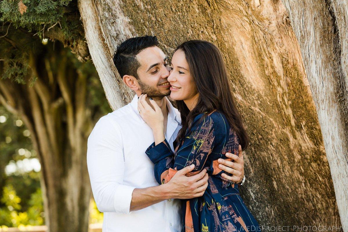 romantic photos in Tuscany