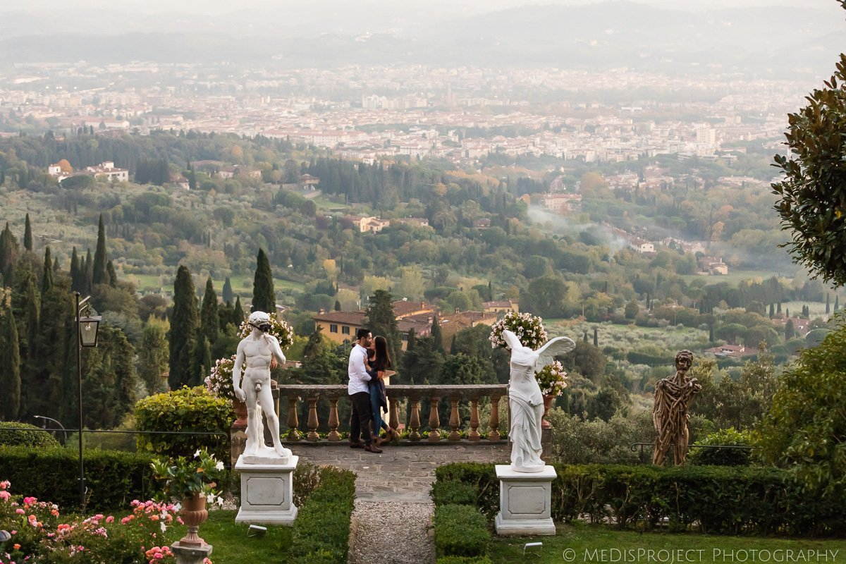 panoramic photo session at Belmond Villa San Michele