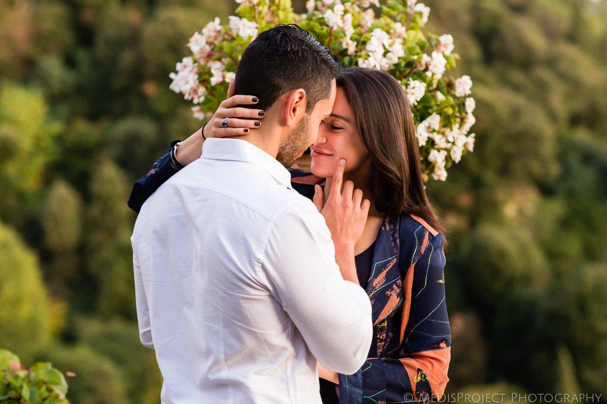 romantic photo session at Belmond Villa San Michele
