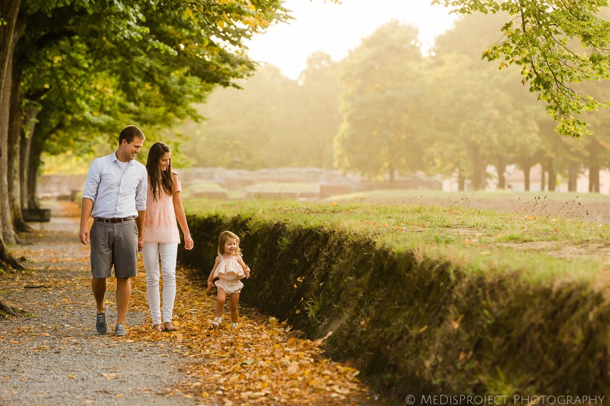 Autumn family trip to Lucca
