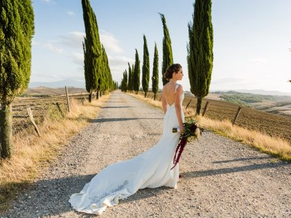 Elegant Wedding in a Tuscan Borgo | Getting married in Lucignanello Bandini