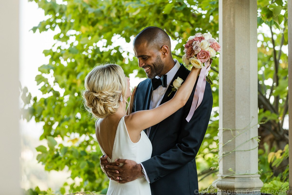interracial wedding in Florence Italy