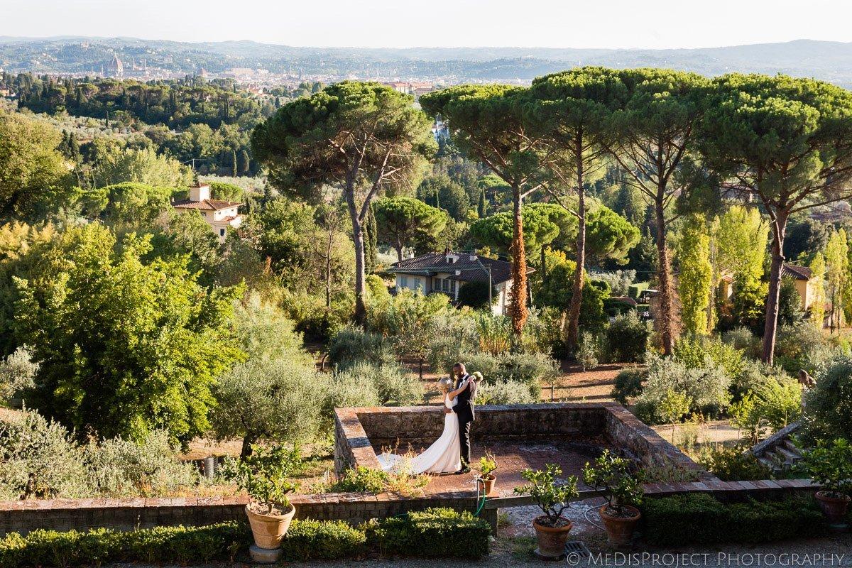 wedding at Villa Fontanelle