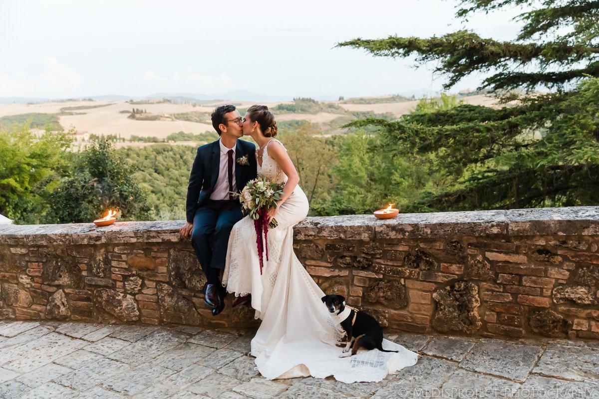 wedding photos in borgo lucignanello bandini
