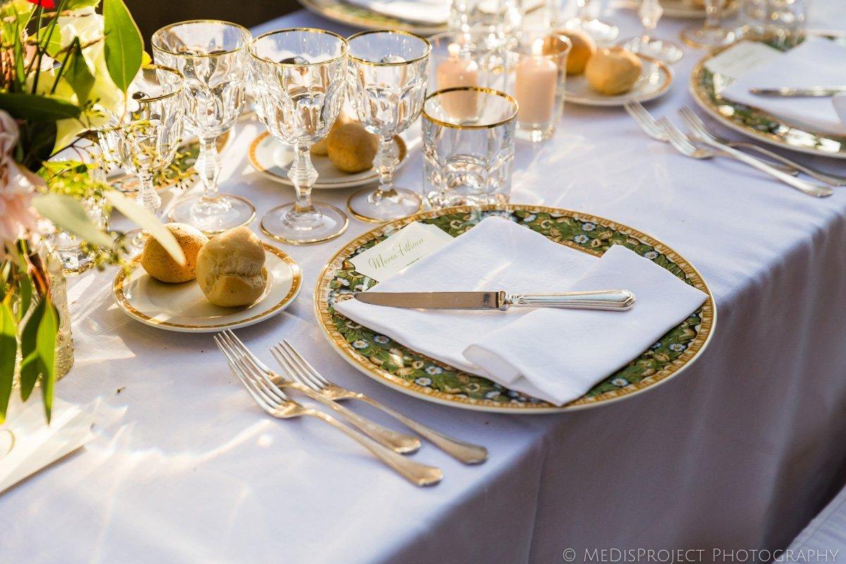 elegant wedding table decoration