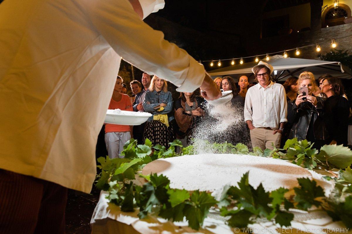 wedding cake instant making