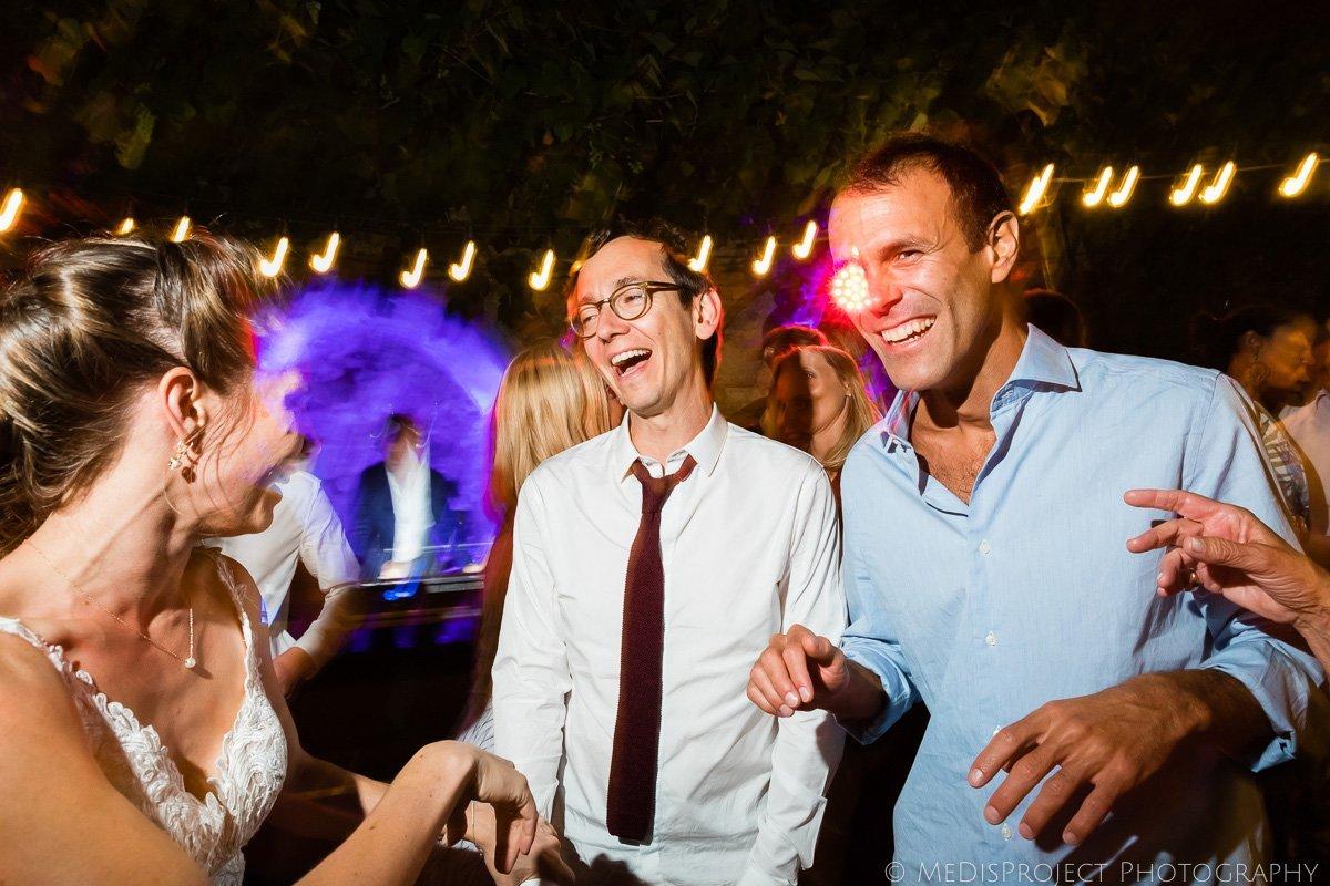 wedding party dance photos