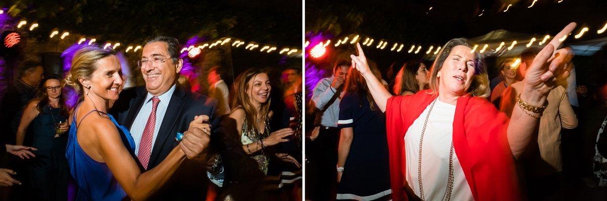 funny wedding party dance photos