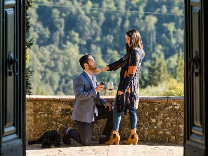 Best Wedding Proposal ever | Engagement photo session in Tuscany