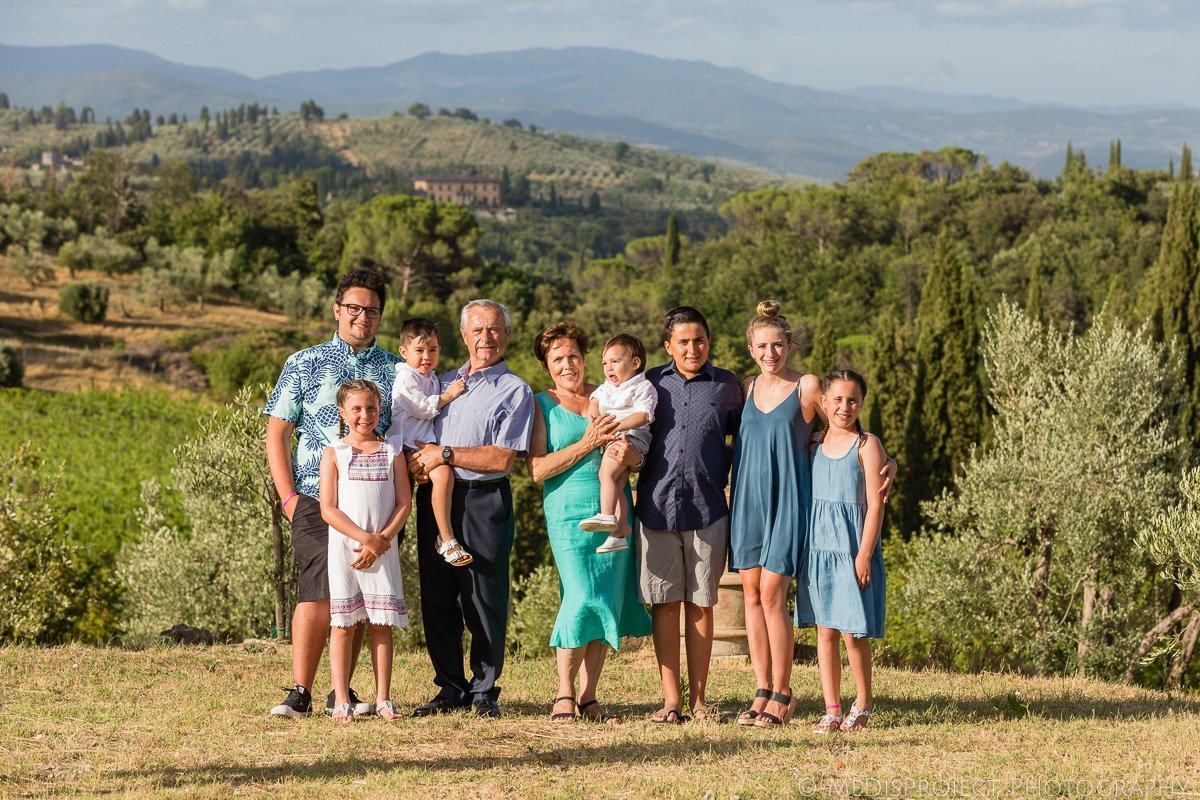 family trip in Florence