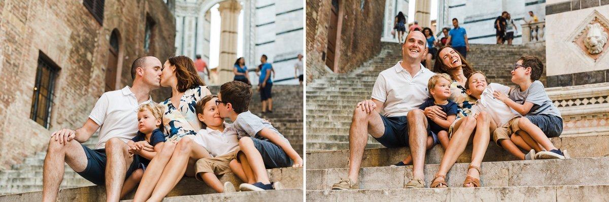 Family Trip to Siena