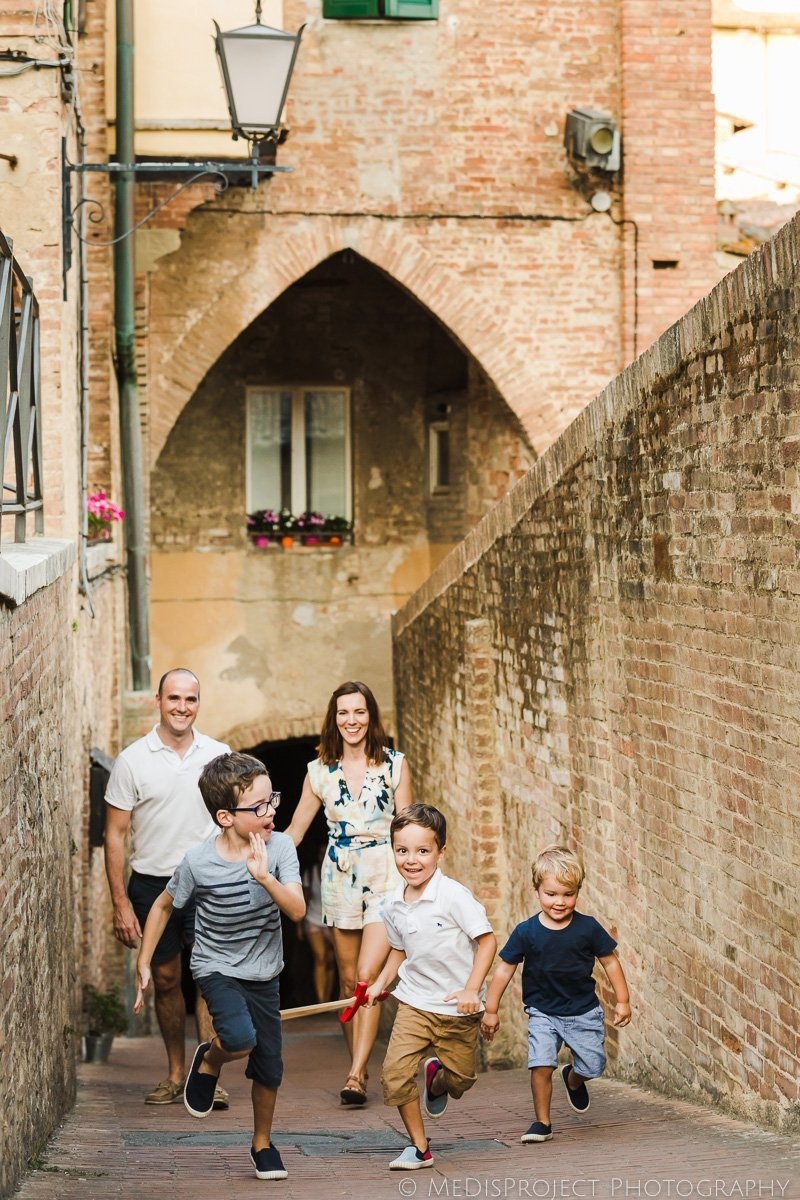 family trip to Siena