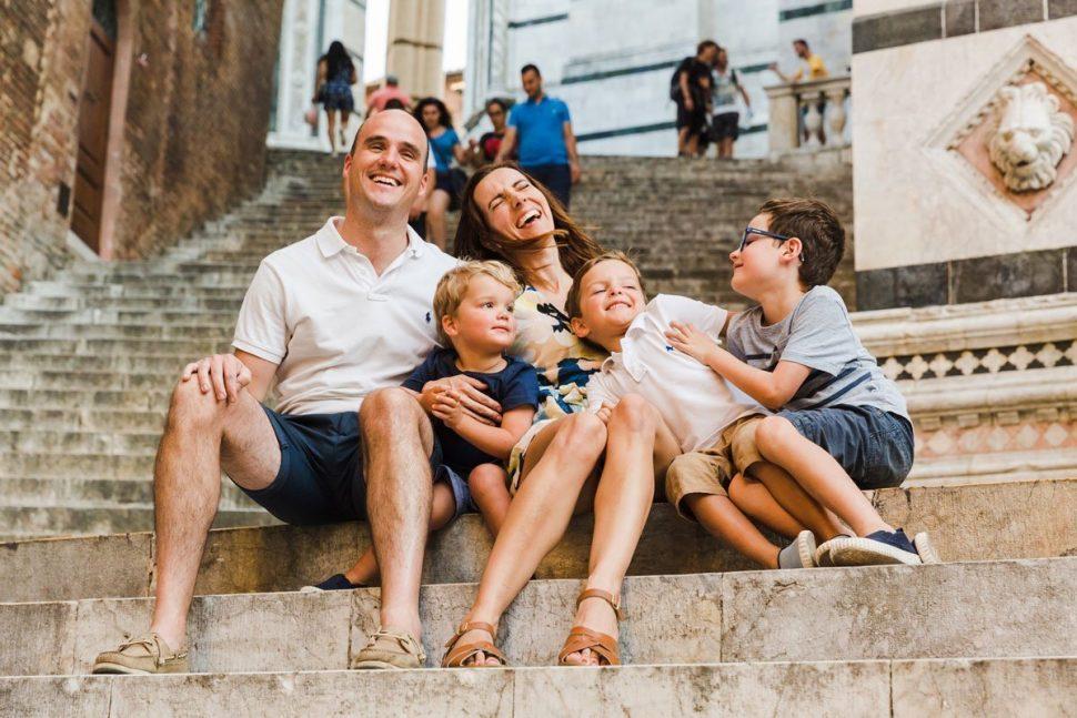 Siena family photographers