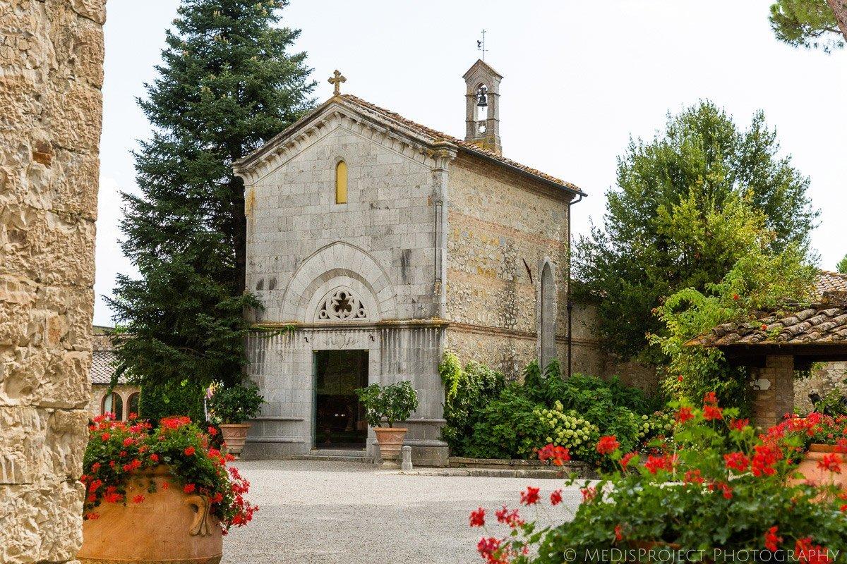 chapel borgo san felice chianti