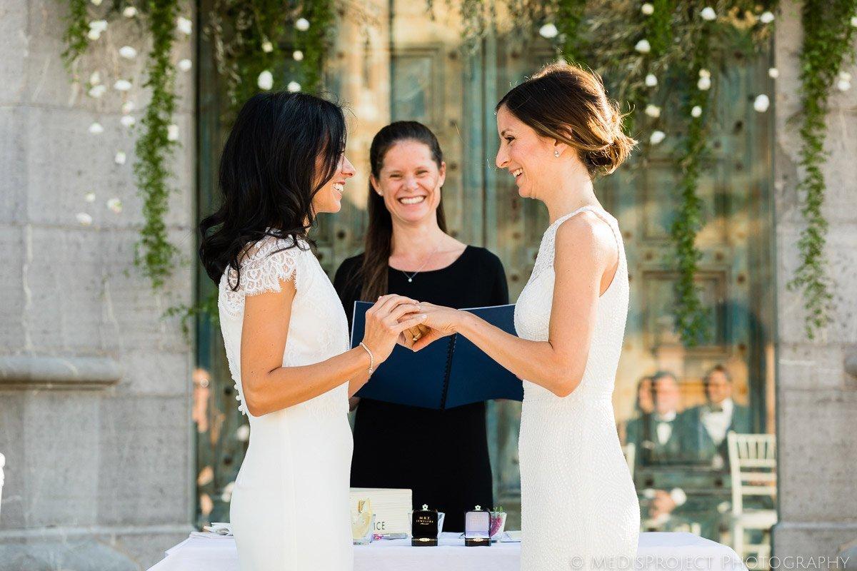 gay wedding at borgo san felice photos