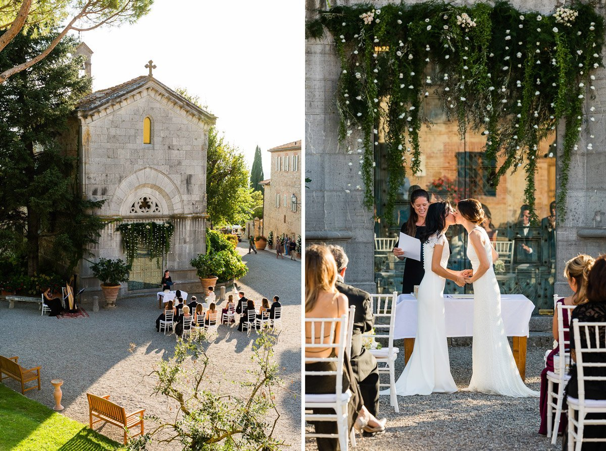 gay wedding at borgo san felice