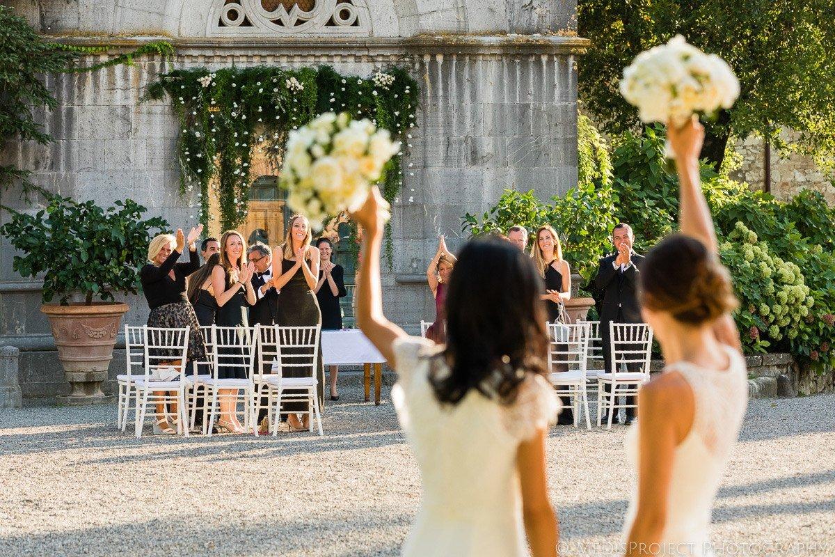 lesbian wedding ceremony exit
