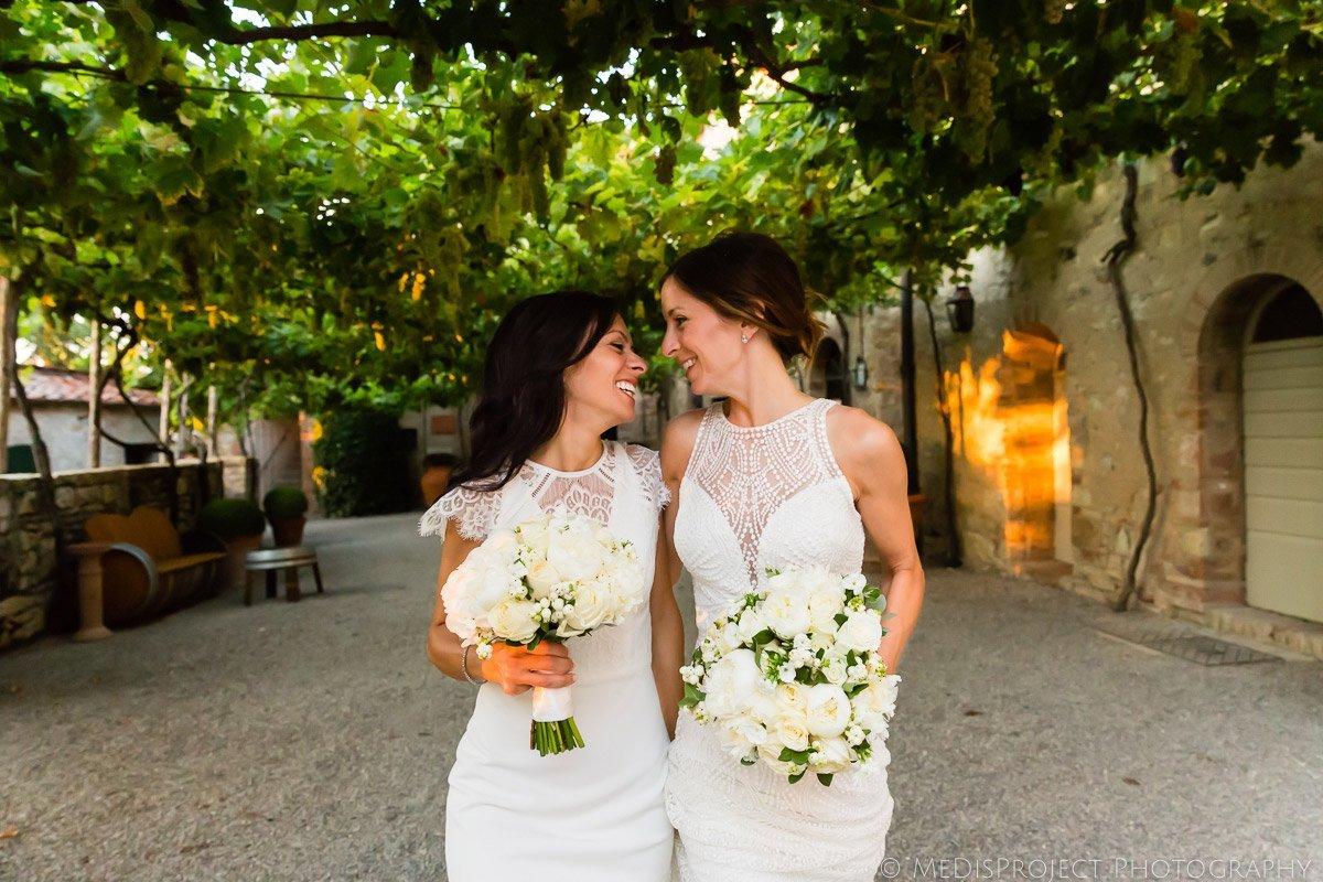 love is love photographers at Borgo San Felice