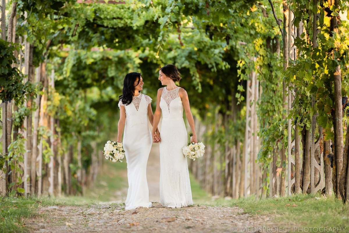same-sex wedding photographers in Tuscany
