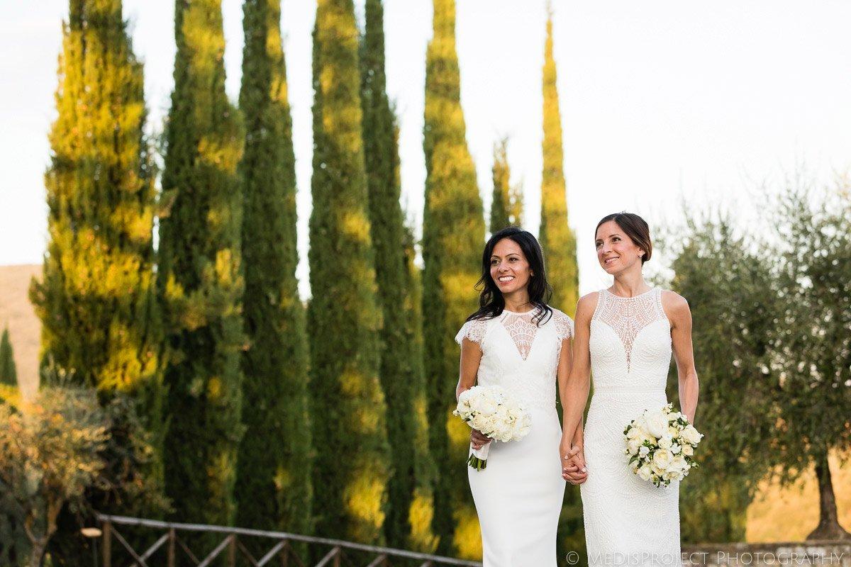 same-sex marriage photos Tuscany
