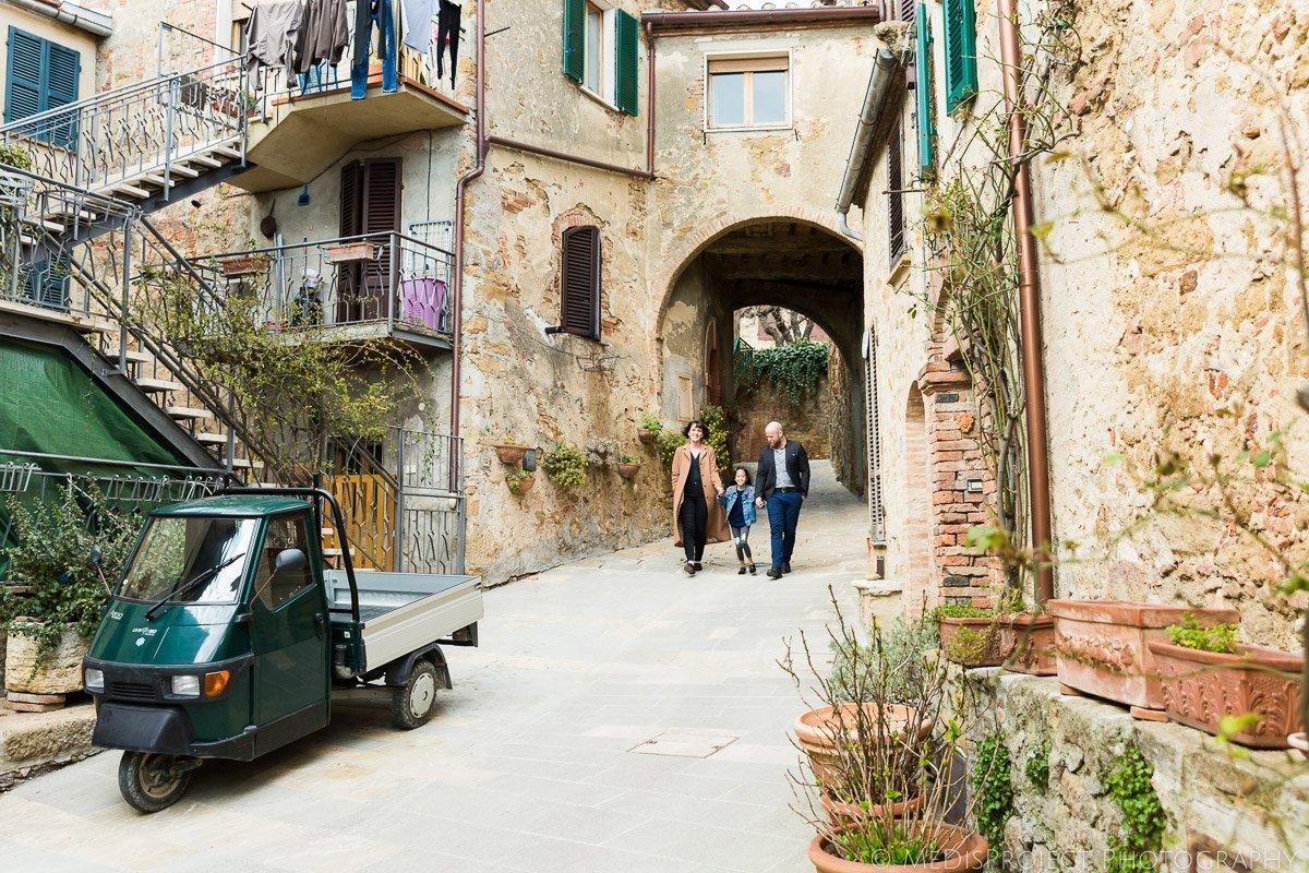 Family photographers in Castelmuzio