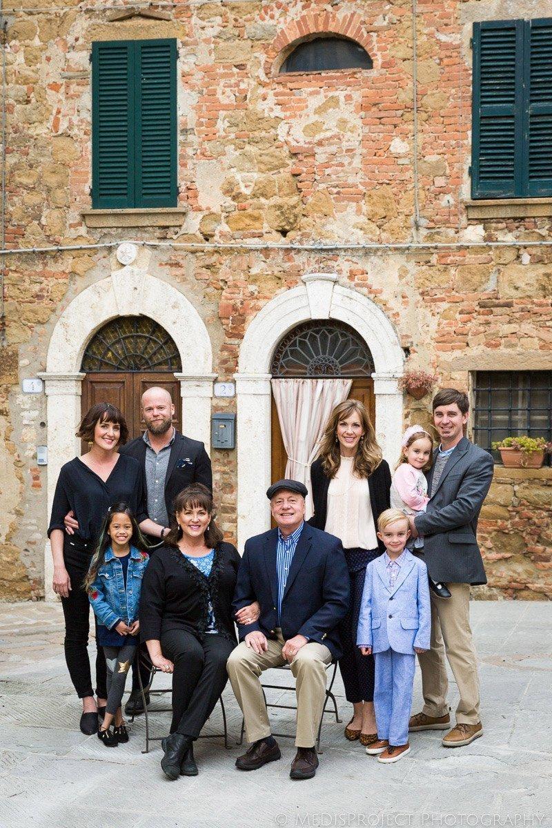 Family Reunion photos at Casa Moricciani