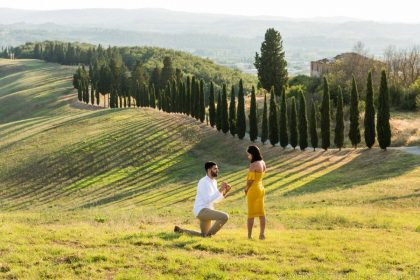 Picnic Marriage Proposal | Proposal Ideas and planning in Tuscany