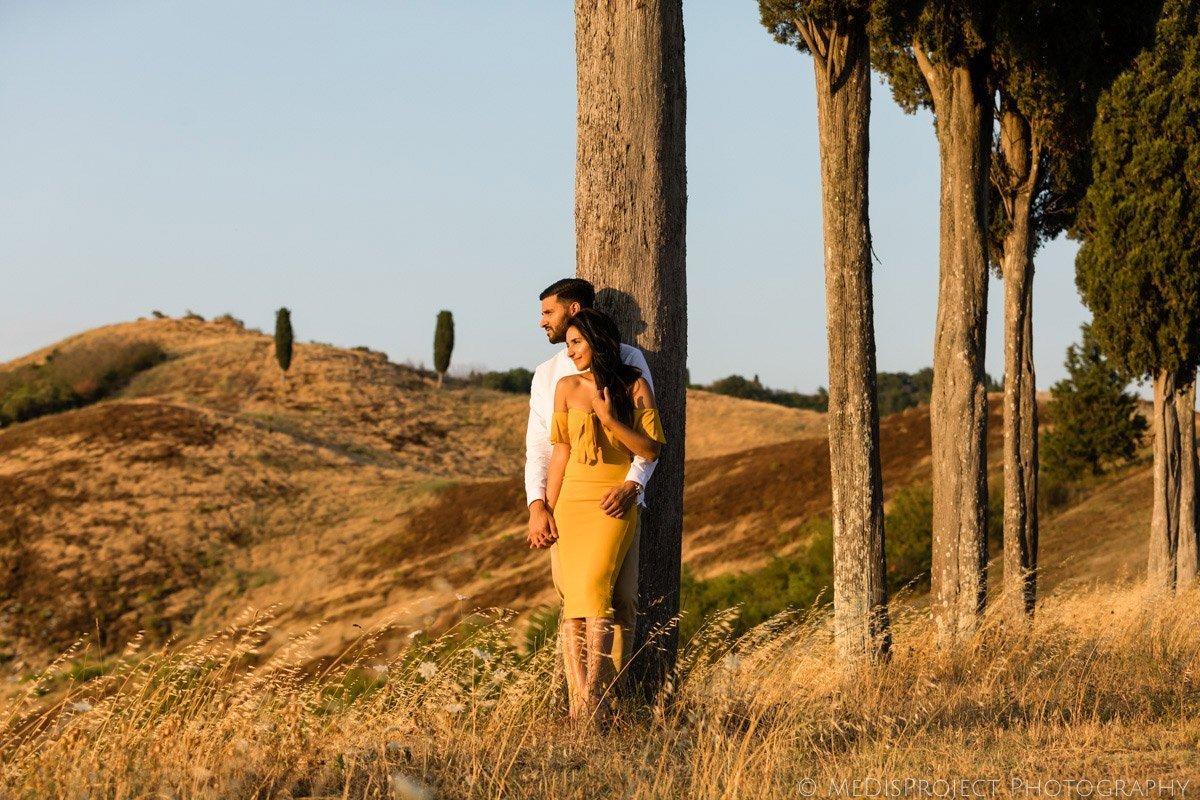 Romantic photo experience in Certaldo
