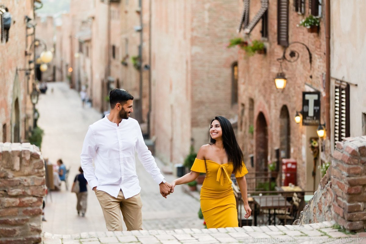 Couples photographer in Certaldo